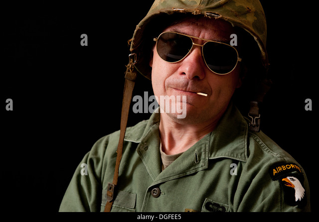 American Soldier Portrait Vietnam Stock Photos ... - Alamy