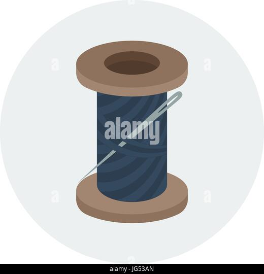 Stitching Clothes Stock Vector Images - Alamy