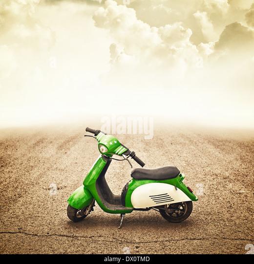 Mini Motor Bike For Children, Trendy Vehicle   Stock Image