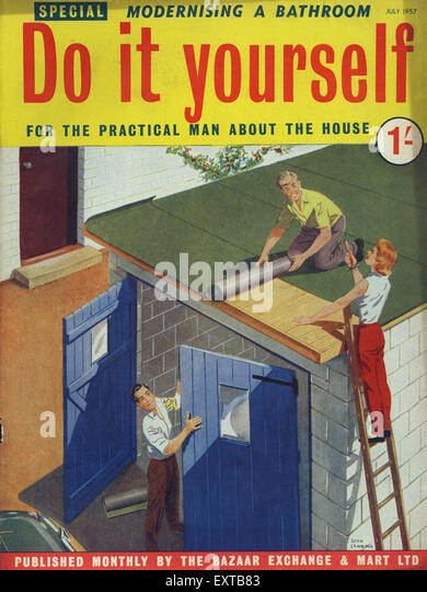 1950s uk woman magazine cover stock photos 1950s uk woman magazine cover stock images alamy. Black Bedroom Furniture Sets. Home Design Ideas