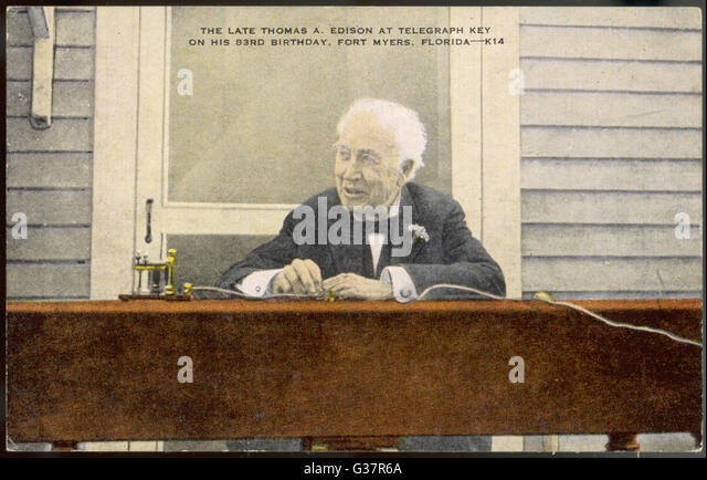 """a biography of thomas alva edison an american scientist """"thomas edison is probably the most brilliant inventor america ever had   thomas alva edison is born in 1847 to an exiled canadian political activist and a ."""