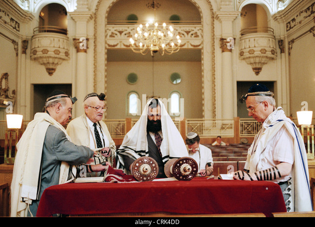 Synagogue Jewish Pries...