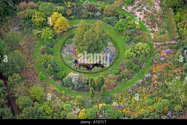 Garden Design Birds Eye View garden design aerial view stock photos & garden design aerial view
