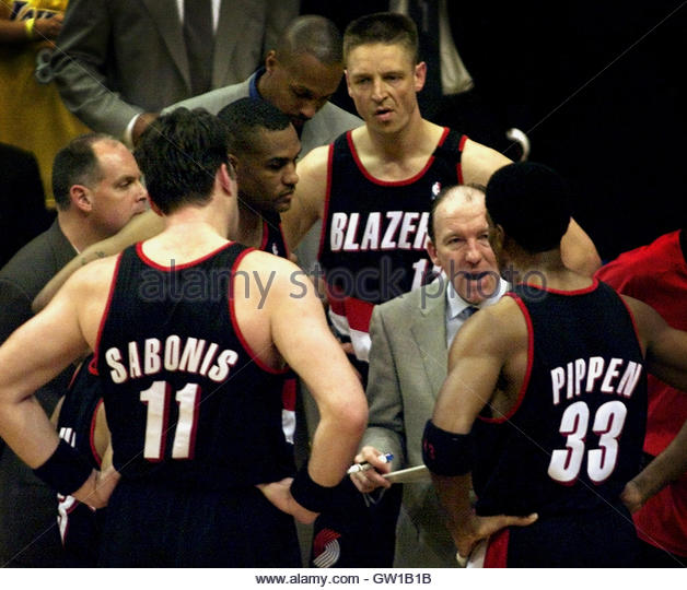 Portland Trail Blazers Coach: Sabonis Stock Photos & Sabonis Stock Images