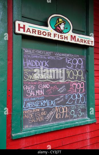 Fish pound stock photos fish pound stock images alamy for Fish market portland maine