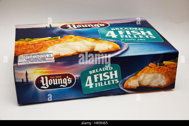 Fish supermarket england stock photos fish supermarket for How to freeze fish fillets