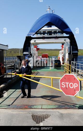Shetland Ferry Car Stock Photos & Shetland Ferry Car Stock Images ...