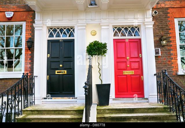 London Front Doors Stock Photos & London Front Doors Stock Images ...
