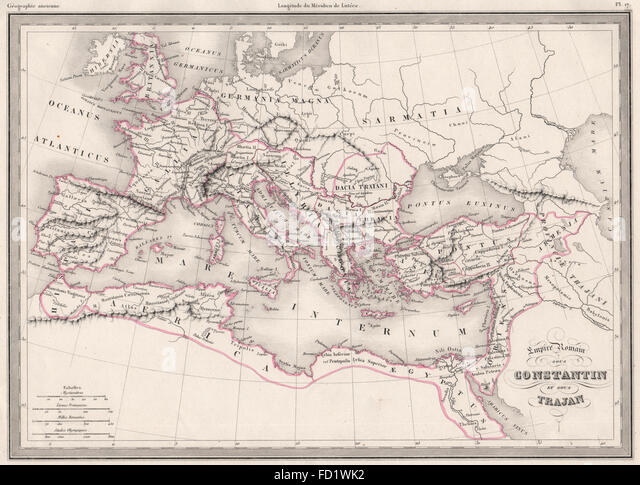 Map Roman Empire Stock Photos  Map Roman Empire Stock Images  Alamy