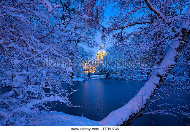 Hanover Germany Winter Stock Photos & Hanover Germany ...