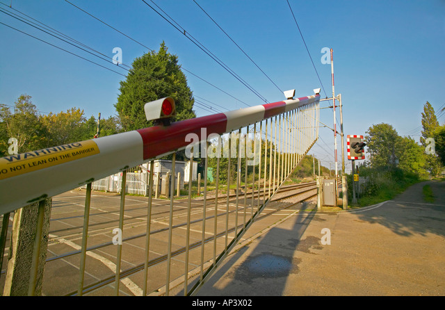 automatic railway level crossing This paper describes the automatic railway gate control system using  the operation of railway gates at level crossings is not so reliable now a days primarily.