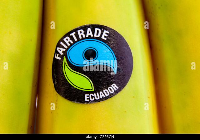Fairtrade Bananas Stock Photos & Fairtrade Bananas Stock Images ...