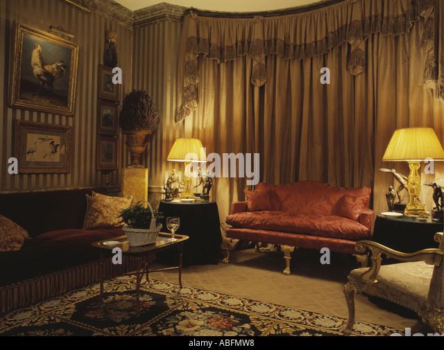 Vintage Wohnzimmer Big Sofa Creme – ElvenBride.com