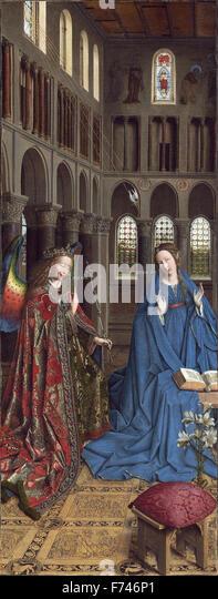 jan van eycks masterpiece The arnolfini portrait by jan van eyck - canvas wall art- 16 x 24  the arnolfini  portrait - (artist: jan van eyck c1434) - masterpiece classic (art print - multiple.