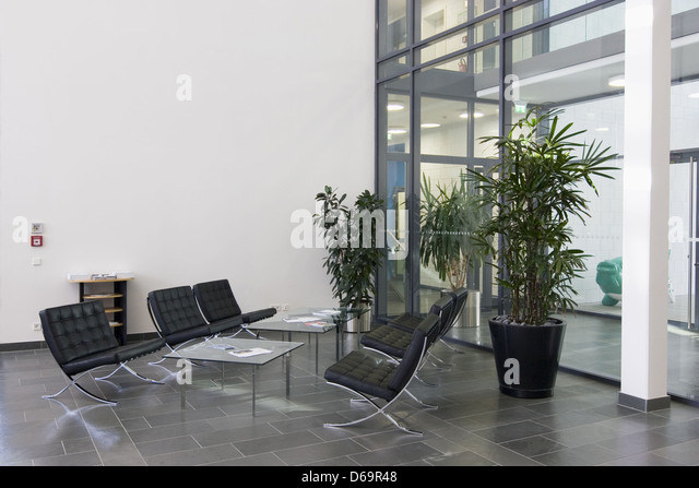 Office Entrance Foyer : Office foyer stock photos images alamy
