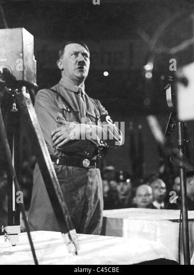 hitler speech Hitler's speeches and proclamations, even more clearly, reveal his faith and feelings toward a christianized germany nazism presents an embarrassment to.