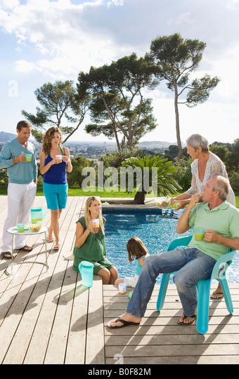 Pregnant Swimming Pool Stock Photos Pregnant Swimming Pool Stock Images Alamy