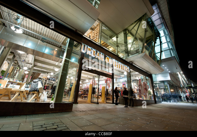 Stock Photo - The High Street clothing shop ,Urban Outfitters, located