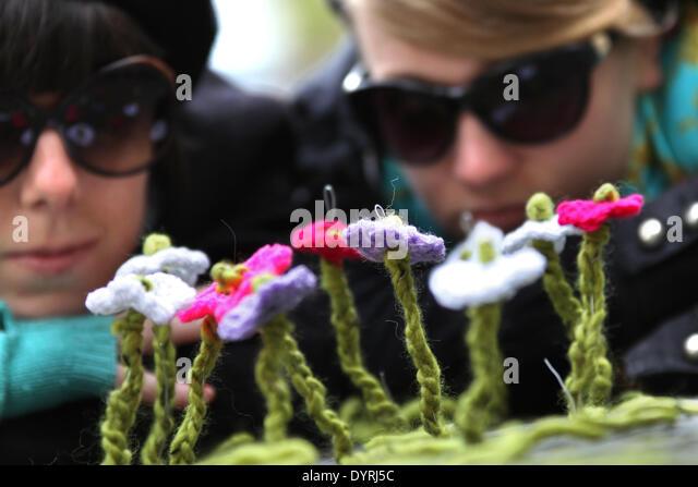 Guerilla Knitting Stock Photos & Guerilla Knitting Stock ...