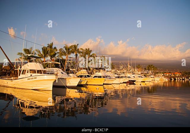 Boat fishing hawaii sport stock photos boat fishing for Fishing big island hawaii