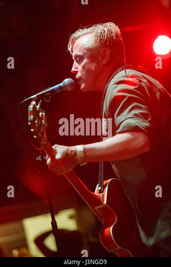 Crewe, Cheshire, UK. 6th May 2017. Spear Of Destiny perform live at The Box, Crewe. Credit: Simon Newbury/Alamy - Stock Image