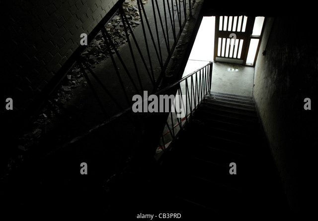 ... Creepy Basement Stairs