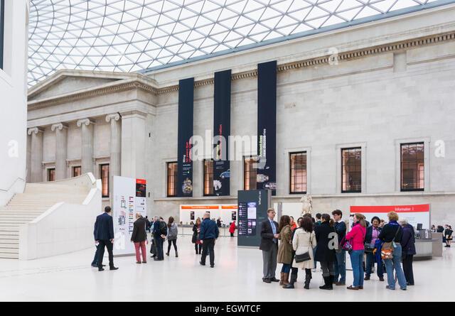 Foyer Museum London : Foyer uk stock photos images alamy