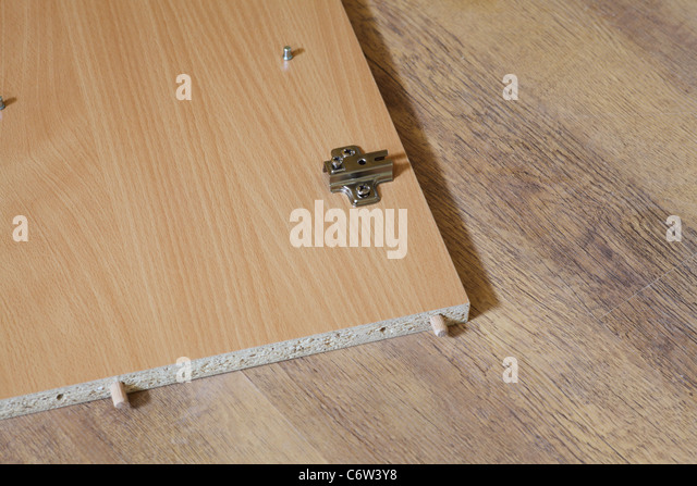 Rearrange Self Assembly Furniture Wooden   Nobody   Stock Image