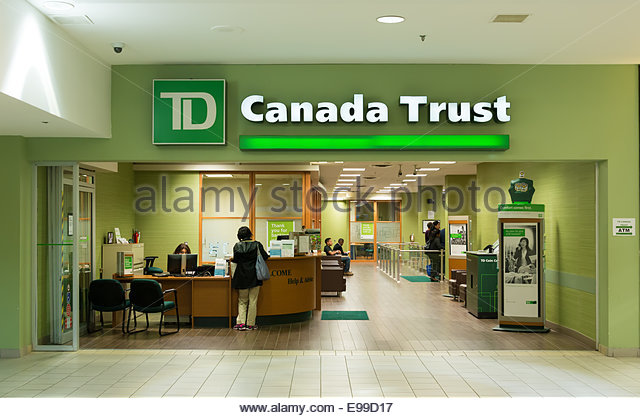 td bank branch stock photos td bank branch stock images alamy. Black Bedroom Furniture Sets. Home Design Ideas
