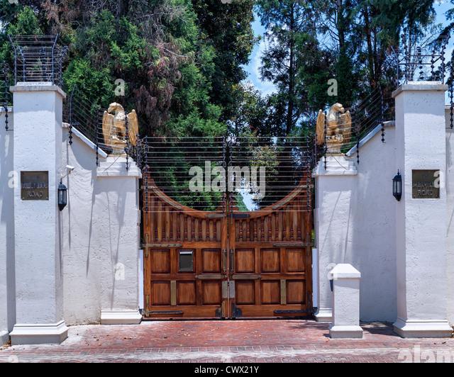 Johannesburg security stock photos johannesburg security for Luxury fences