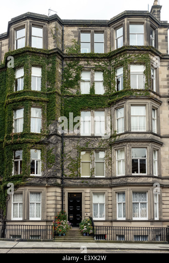 Ivy growing house architecture stock photos ivy growing for 3 rothesay terrace edinburgh