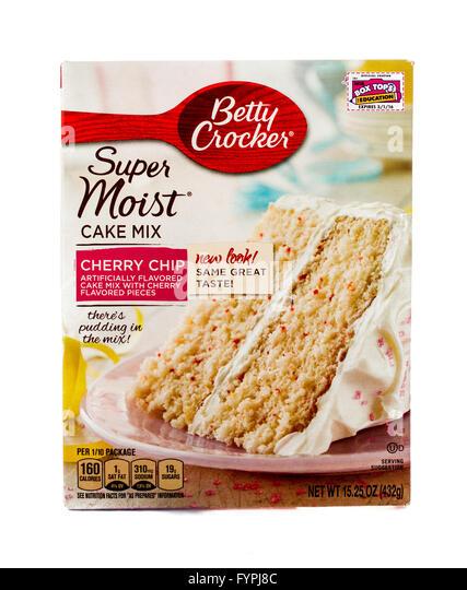 Betty Crocker Cherry Chip Cake Mix