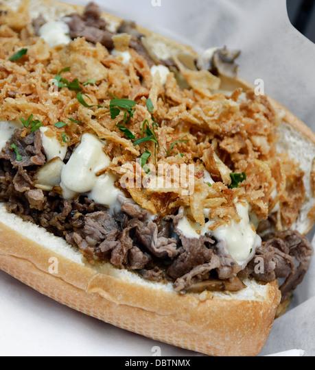 Cheese Steak Stock Photos & Cheese Steak Stock Images - Alamy
