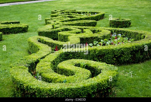 Maze Garden Stock Photos Maze Garden Stock Images Alamy