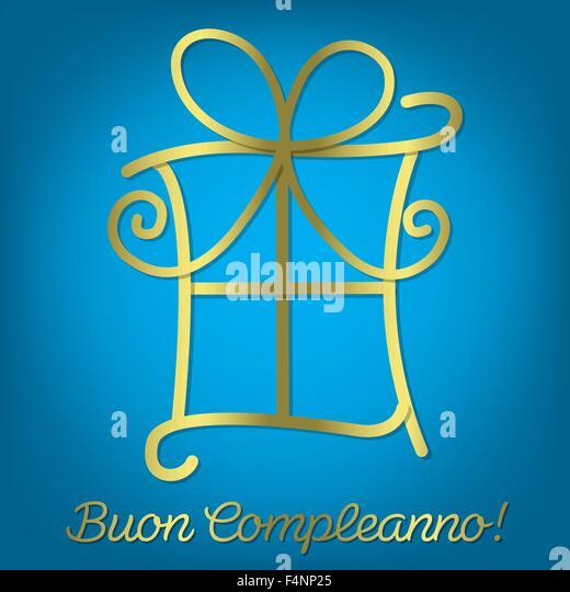 Italian Happy Birthday Card In Photos Italian Happy – Italian Birthday Card