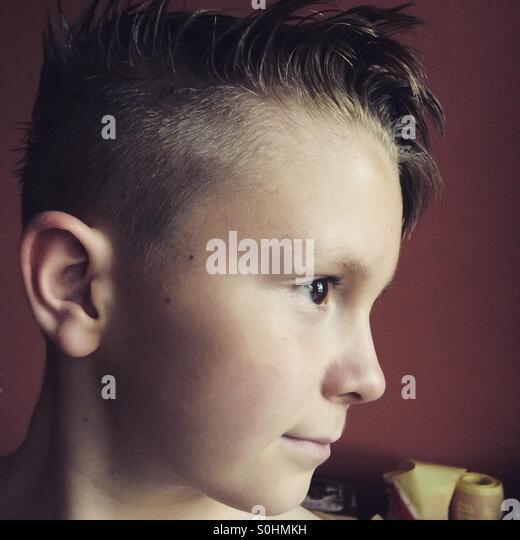 New Haircut Stock Photos & New Haircut Stock Images - Alamy