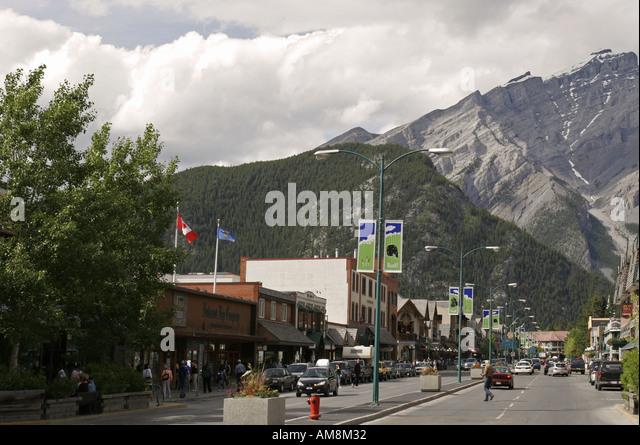 Banff Canada City Not Town Stock Photos Amp Banff Canada City Not Town Stock Images Alamy