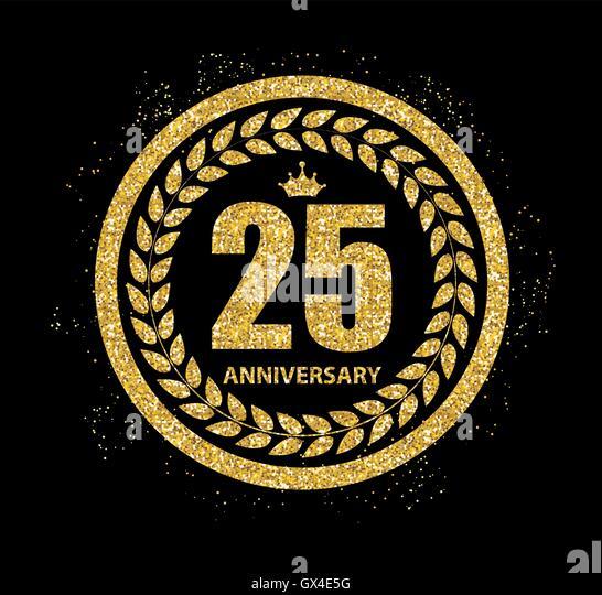25 anniversary logo stock photos   25 anniversary logo 25th Wedding Anniversary Clip Art 25th Anniversary Logo Ideas