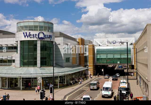 West Quay Shopping Centre Car Park