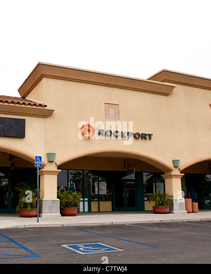 A Rockport store at the Camarillo California outlet stores - Stock Image