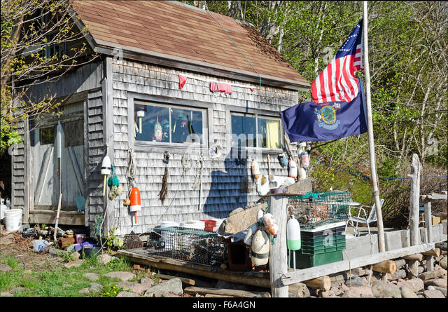 Fish shack stock photos fish shack stock images alamy for Otter fish houses