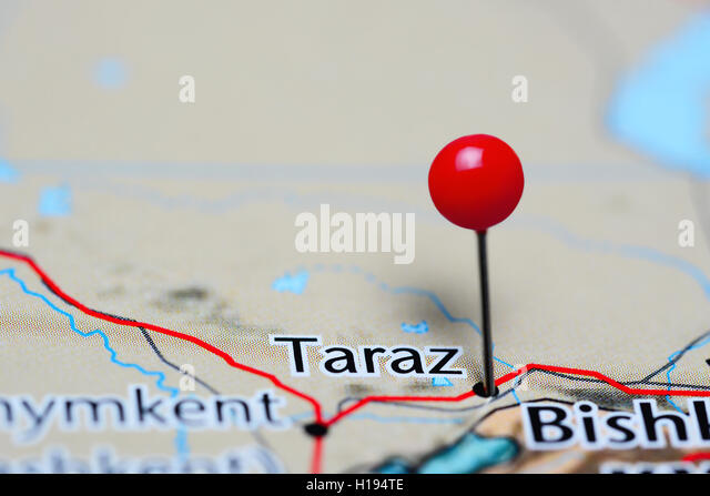 Taraz Stock Photos Taraz Stock Images Alamy - Taraz map