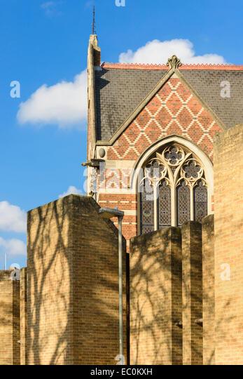 Beautiful Modern Architecture Oxford Victorian Gothic At Keble College University England Uk Stock Image Inside Decor