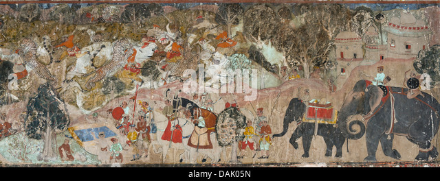 Badal stock photos badal stock images alamy for Clarks mural fresco