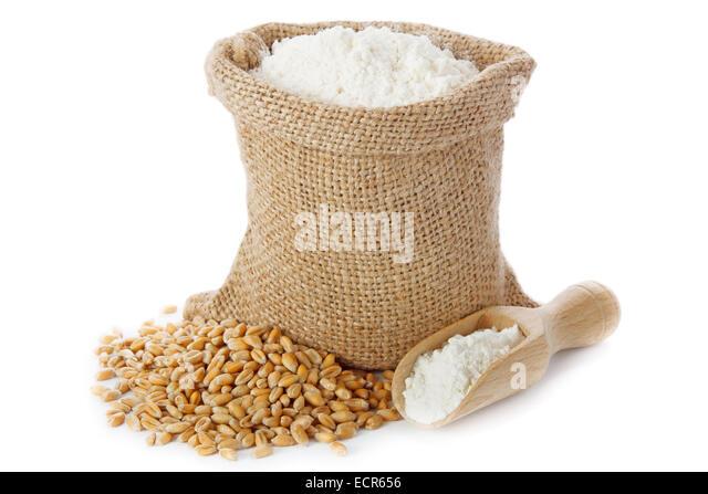 Bag Of Flour Isolated Stock Photos & Bag Of Flour Isolated ...
