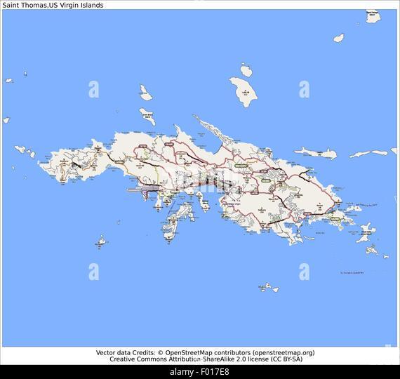 Virgin Islands Us Flag Stock Photos Virgin Islands Us Flag - Map of us and us virgin islands