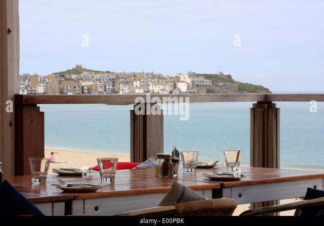 Porthminster beach cafe stock photos porthminster beach for 3 porthminster terrace st ives