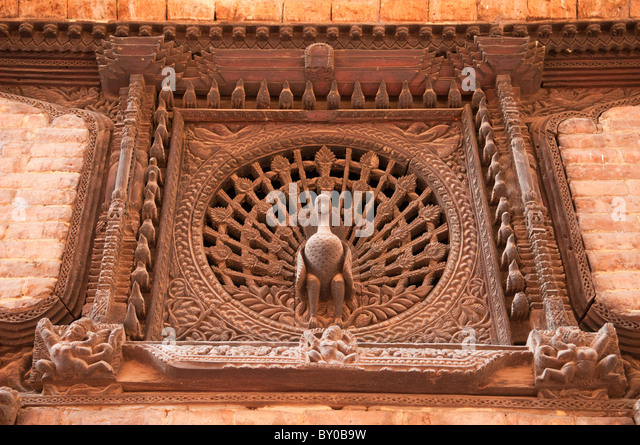 Nepali wood craft stock photos nepali wood craft stock for Window design in nepal