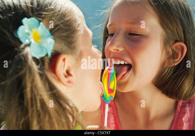 girls licking girls