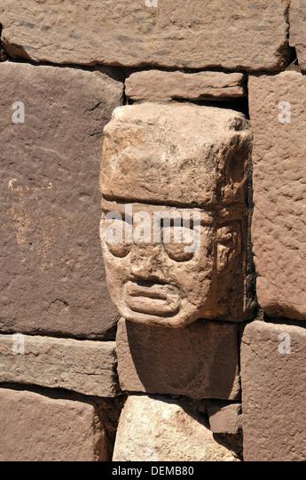 Tiwanaku spanish stock photos